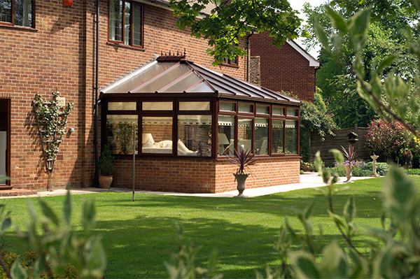 uPVC Brown Classic Conservatory