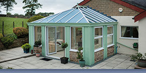 Green Loggia Italian Style Conservatory