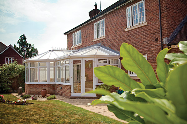 uPVC White Classic Conservatory