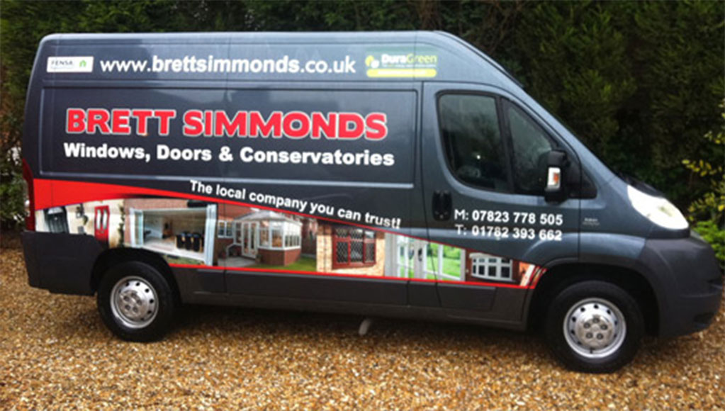 About Brett Simmonds uPVC in Staffordshire and Stoke on Trent